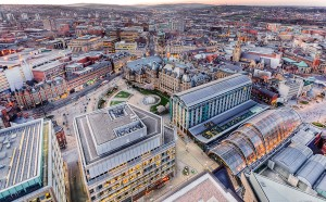 view of Sheffield City